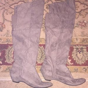 Shoes - Knee high boots\ Suede